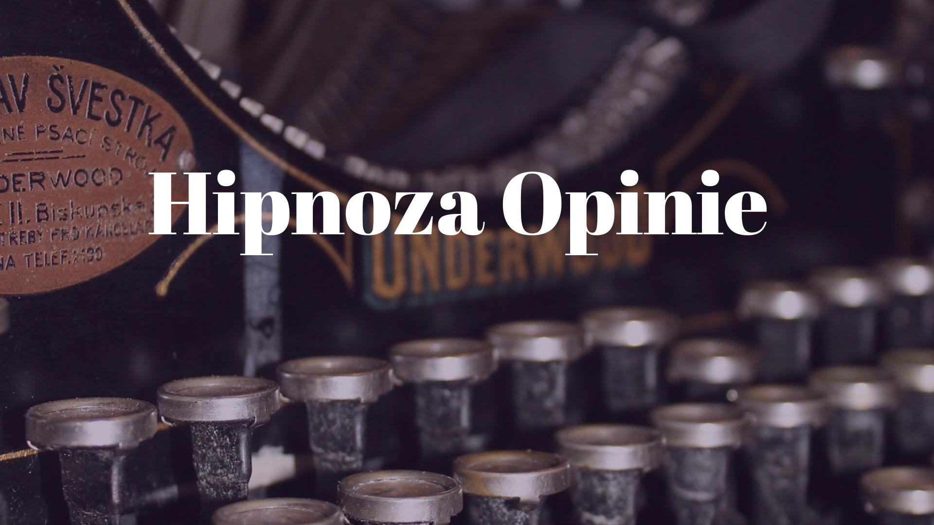 hipnoza- opinie