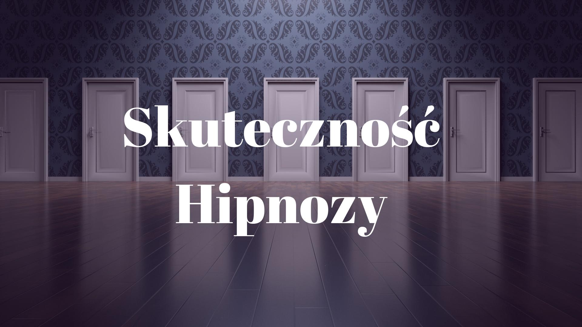 hipnoza- skuteczność